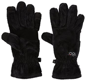 180s Women s Lush Touch Screen Glove Black Large