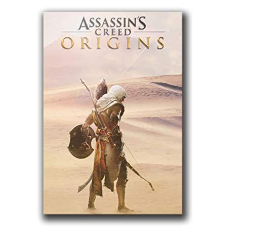 RZHSS Assassin's Creed Game Poster Und Drucke Bilder Leinwanddrucke Wandkunst Leinwandmalerei Home Decor Geschenk -20X30 Zoll No Frame 1 Pcs