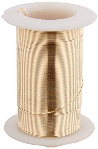 Darice DARP32030.4 Craft 24 Ga Gold 30 yd Wire