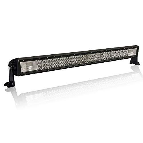 AUFUN 405W LED Arbeit Licht Bar Arbeitsscheinwerfer Offroad Flutlicht Reflektor Scheinwerfer Arbeitslicht Zusatzscheinwerfer Scheinwerfer 12V 24V Rückfahrscheinwerfer (405W)