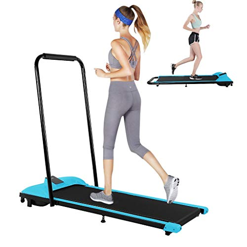 Fan-Ling Under-Desk Walking Treadmill Jogging Exercise Machine Remote Control for Home Gym Fitness Workout Jogging Walking Running Folding Treadmill for Home