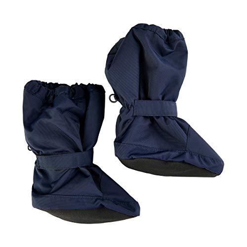MINYMO Unisex-Child Tussor solid Footies, Navy, 0