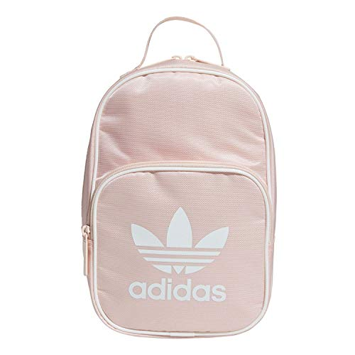 adidas Originals Unisex Santiago Insulated Lunch Bag, Icey Pink/White, ONE SIZE