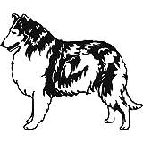 SOLYY Wandtattoos Collie Sheepdog Pets & AmpAnimals Wandtattoo Aufkleber