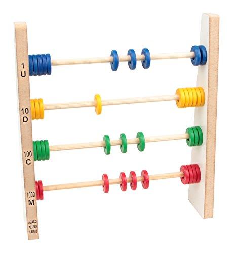 Carlu Brinquedos - Jogo para Realizar Cálculos, 4+ Anos, Color Multicolorido, 1910