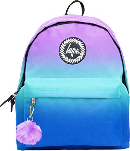Hype Violet Fade POM POM Backpack
