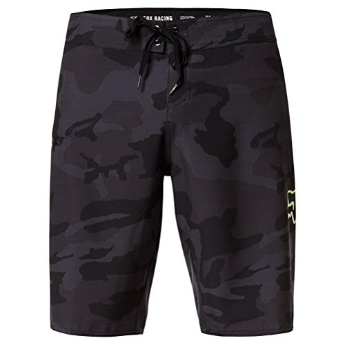 Fox Racing Men's Board Shorts, Black Camo, 36