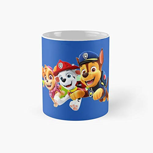 Pawpaw P.a.t.r.o.l Classic Mug - Funny Gift Coffee Tea Cup White 11 Oz The Best Gift For Holidays.