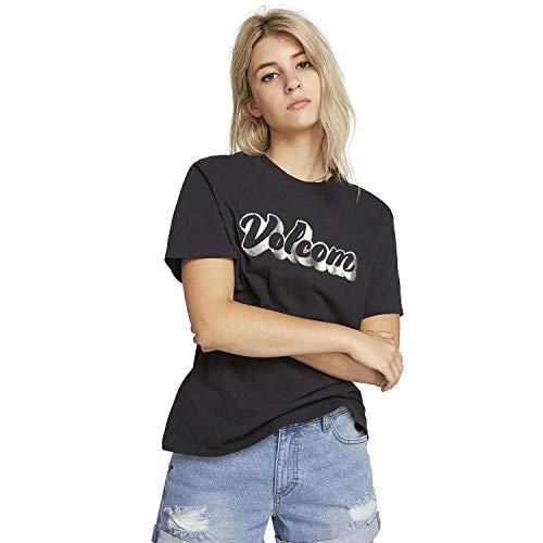 Volcom Stone Slick Short Sleeve T-Shirt Large Black