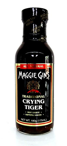 Maggie Gin´s Crying Tiger Sojasauce mit Ingwer, Soja Sauce, 175 ml