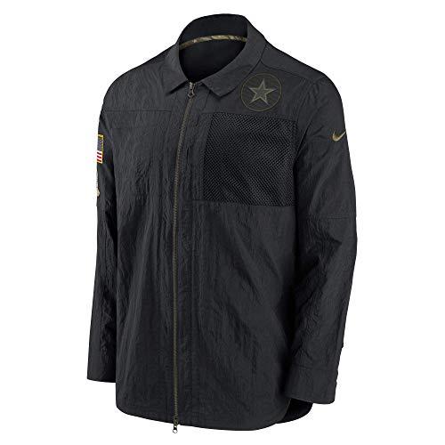 Dallas Cowboys Herren Nike Logo Long Sleeve Salute to Service Top