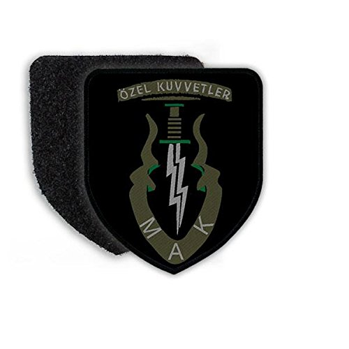 Copytec Patch Özel Kuvvtler MAK TYP 2 Bordo Bereliler Türkei Armee Türkische Streitkräfte Spezialeinheit Elite Kommando Wappen Abzeichen Aufnäher#22310