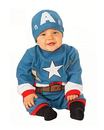 Horror-Shop Traje De Bebé Capitán América S 6-12-Monate