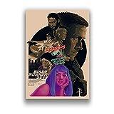 SIGNLEADER Leinwand Poster Bilder Blade Runner 2049 Film