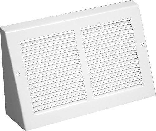 Triangular Extended Baseboard Return Grill (30' x 6' Duct Opening/ 31 3/8' x 6 7/8' Overall)