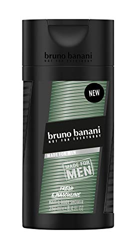 bruno banani MADE FOR MEN Shower Gel, 4er Pack(4 x 250 ml)