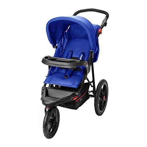 Carrinho de Bebê 3 Rodas Fisher Price Expedition TS Até 15Kg Azul - BB585
