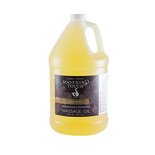 Soothing Touch, European Lavender Massage Oil, Gallon (128 oz)