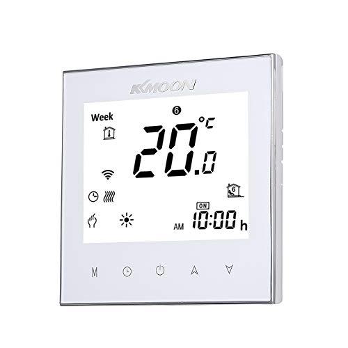 Termostato Inteligente para Caldera de Gas,Wifi Regulador de Sistema,Controlador con Pantalla Negativa...
