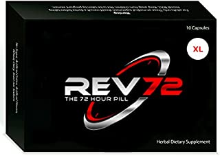 REV72 XL ~ Powerful 72hr Natural Male Stimulant 6 Single Packs