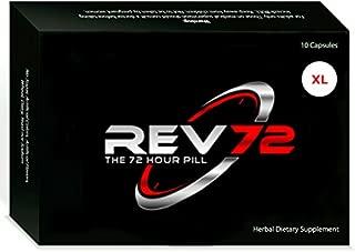 REV72 XL ~ Powerful 72hr Natural Male Stimulant 6 Single Packs