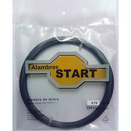 Alambres Start-Jose A.Arnaldo- Al250080 - Alambre cuerda piano 250 gr. 0.8 mm...