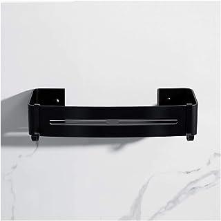YF-SURINA Étagère de support de douche étagère d'angle de salle de bain étagères de rangement de douche en aluminium Recta...