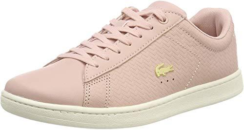 Lacoste Damen Carnaby Evo 119 3 SFA Sneaker, Pink (Nat/Off Wht Ts2), 36 EU