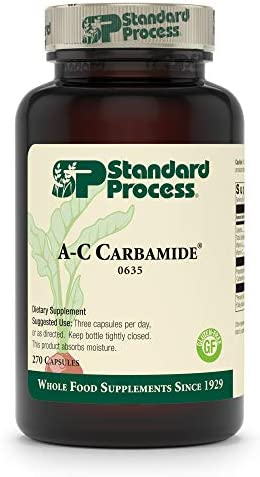 Standard Process A-C Carbamide - Gluten-Free Kidney Support Supplement with Vitamin A, Vitamin C, and Arrowroot Flour - 90 Capsules