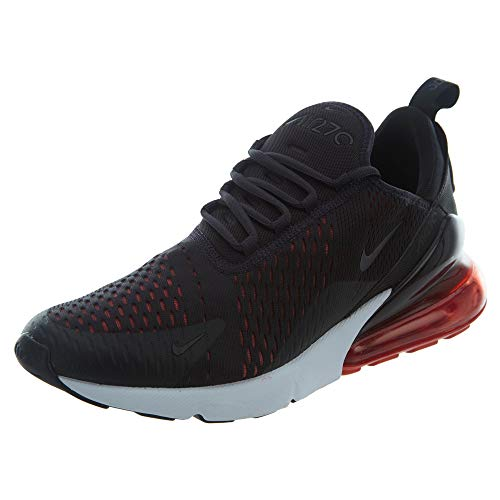 Nike Air MAX 270 Hombre Running Trainers AH8050 Sneakers Zapatos (UK 11 US 12 EU 46, Cool Grey Red 013)