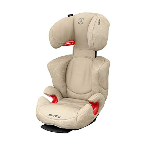Maxi-Cosi Rodi AirProtect Kindersitz - höhenverstellbarer Autositz mit komfortabler Ruheposition, Gruppe 2/3 (15-36 kg), nutzbar ab 3,5 bis 12 Jahren, nomad sand