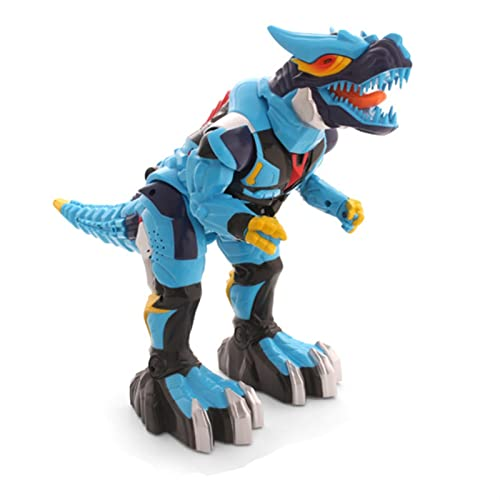 ELKeyko Tyrannosaurus Rex Roar Music Eyes Shine Kids Pet Toys Boys Regalos RC Dinosaurio Electric Deform Robot Robot Control Remoto Dino