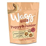 Wagg Puppy and Junior Treats with Chicken and Yoghurt 120gm, Deal of 4