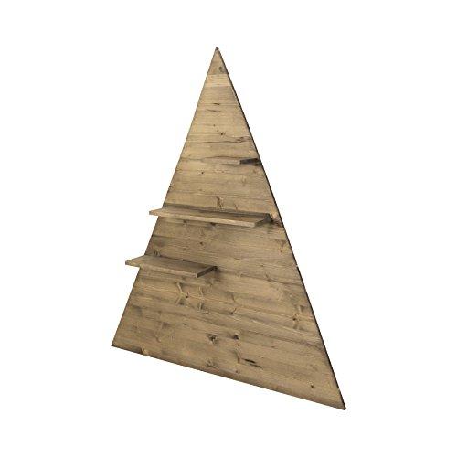 Decowood Baum Regal Klein, Holz, Braun, 40x 50x 15cm