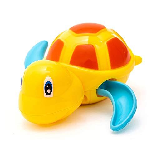 MMI-LX Lyrong - Juguetes divertidos para bebé, natación, tortuga, cuerda de reloj, cadena para niños, baño de bebé, reloj de baño para bebés, niños y niñas (color: 02)