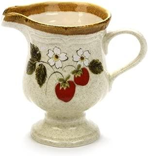 Strawberry Festival by Mikasa, Stoneware Cream Pitcher