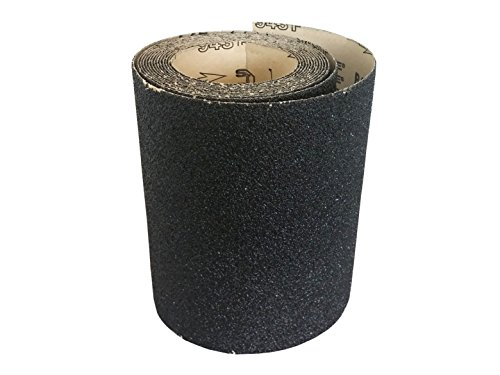 8' x 5 Meters Sandpaper Rolls Heavy Duty Silicon Carbide 36 Grit