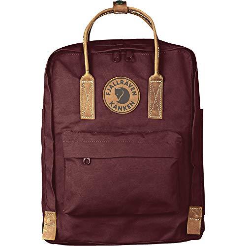 FJÄLLRÄVEN Unisex-Adult Kånken No. 2 Luggage- Messenger Bag, Dark Garnet, Einheitsgröße
