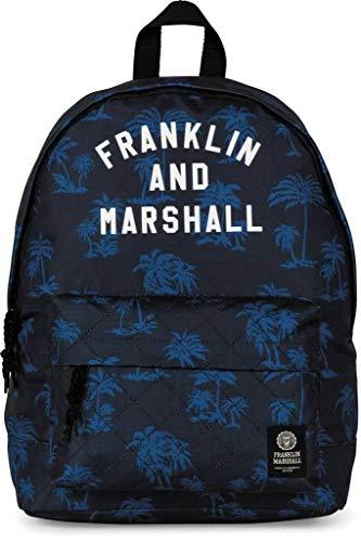 Franklin Marshal - MOCHILA FRANKLIN & MARSHALL ESTAMPADA EN AZUL para: Unisex adulto color: No Aplica talla: Talla Unica
