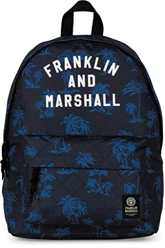 Franklin Marshal - MOCHILA FRANKLIN & MARSHALL ESTAMPADA EN AZUL para: Unisex-adulto color: No Aplica talla: Talla Unica