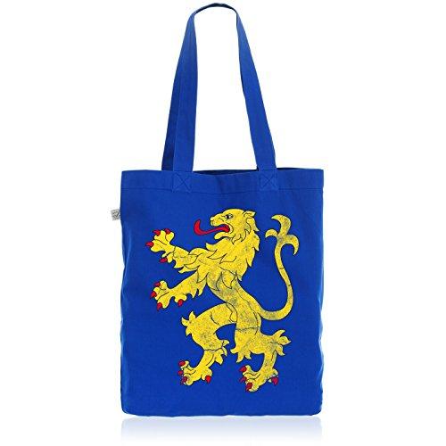 style3 Sheldons Appartement Flagge Biobaumwolle Beutel Jutebeutel Tasche Tote Bag Löwe Bayern