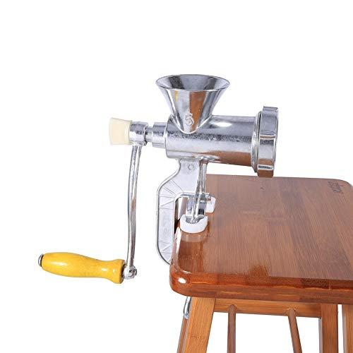 Fleischwolf - Hand bedienen Fleischwolf Aluminiumlegierung manuelle Fleischwolf Wurst Fleischwolf Tabelle Küche Home Tool