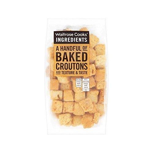 Köche Zutaten Croutons 100G Waitrose - Packung mit 2