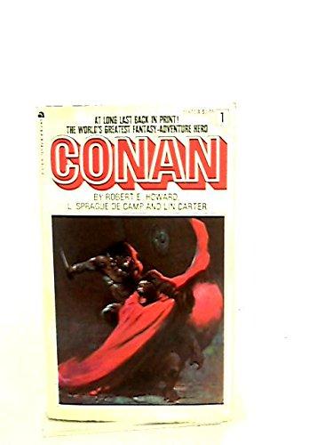 Conan the Warrior 0441116779 Book Cover