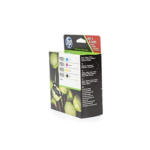 Original Tinten Spar-Set HP C2N92AE - 4 Tinten-Patronen - Schwarz, Cyan, Magenta, Gelb - 1 x 1.200 & 3 x 700 Seiten