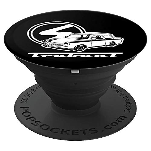 Trabant Logo Trabi Auto Trabant 601 - PopSockets Ausziehbarer Sockel und Griff für Smartphones und Tablets