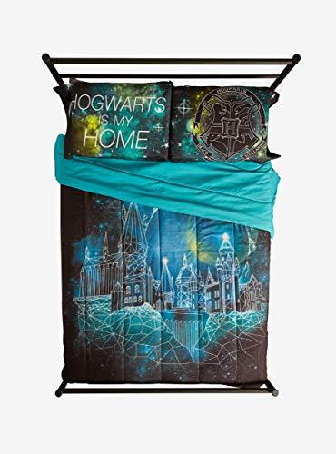 Harry Potter Hogwarts Is My Home Galaxy Pillowcase Set Buy