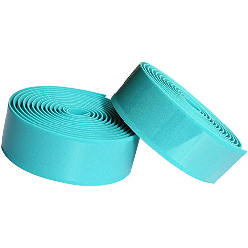 SONSYON Bike Handlebar Grip Tape - Made of EVA Bike Handlebar Tape for Cycling Mountain, Non-Slip Design and Elastic, Bianchi Green, 3MM (T) * 3CM (W) * 2M (L)