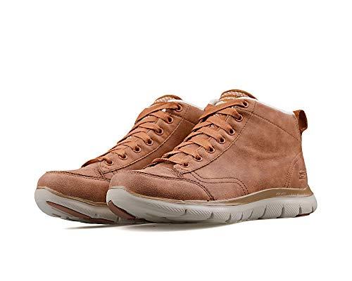 Zapatillas Skechers – Flex Appeal 2.0-Warm Wishes Marrón Talla: 38