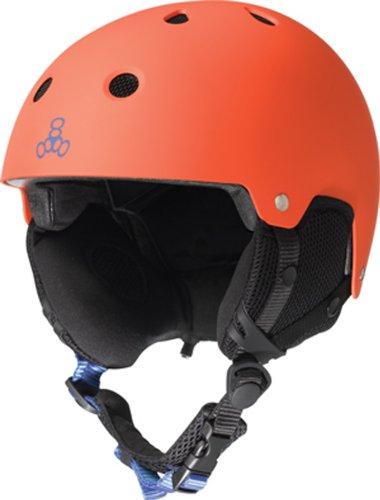 The Sales Partnership Triple 8 Brainsaver Snow Casque Audio Taille S/M Orange